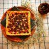 白花豆のスパイシーチーズケーキ
